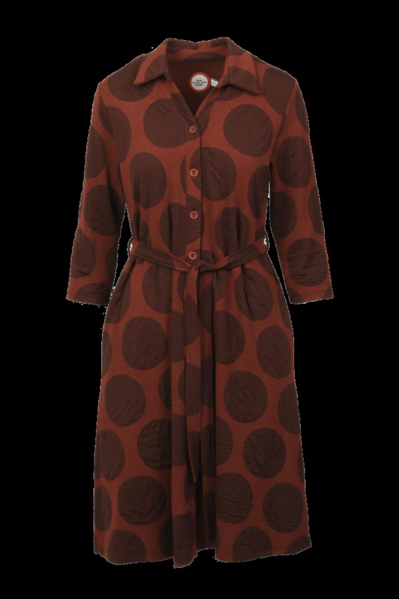 Leila ginger dress