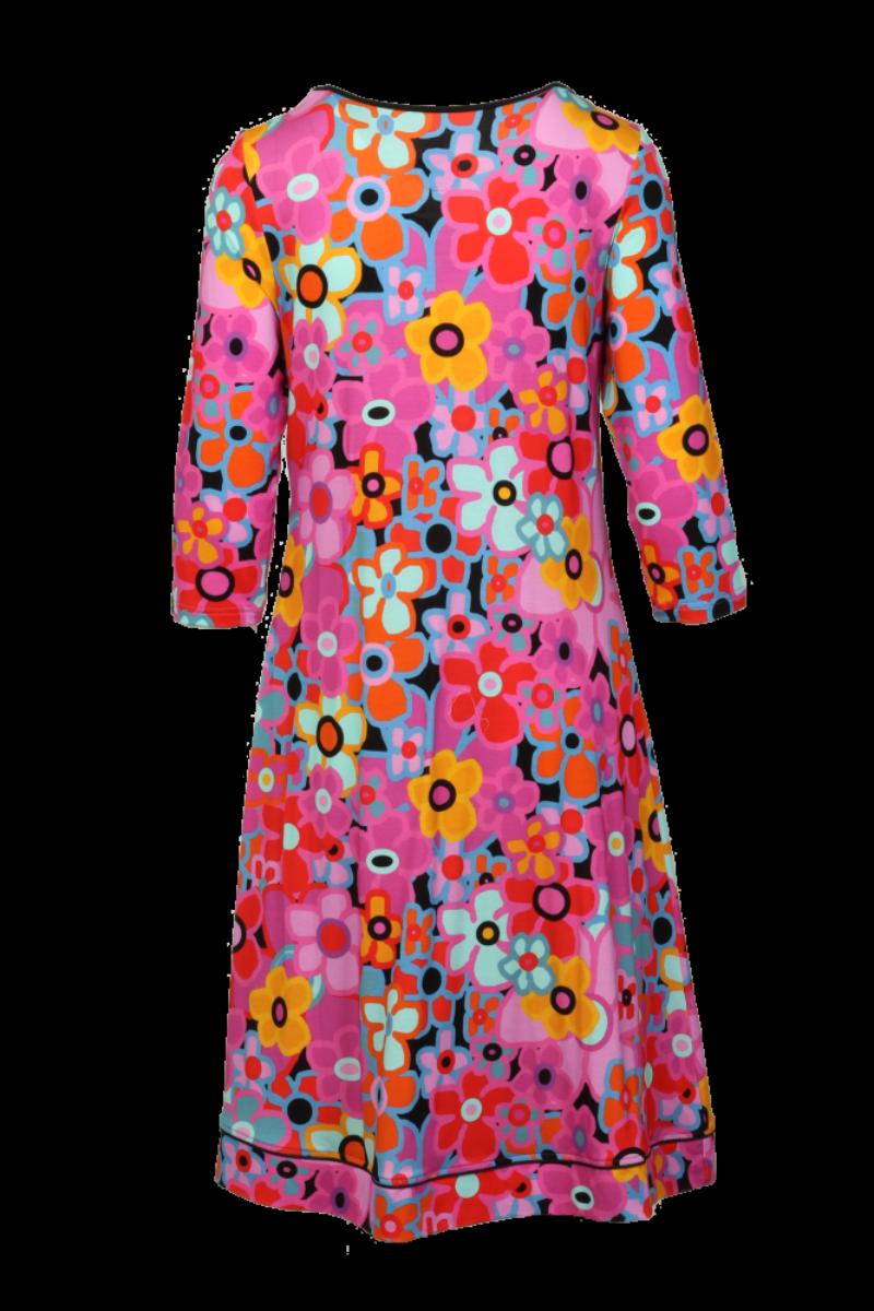 Petrine multicolor kjole