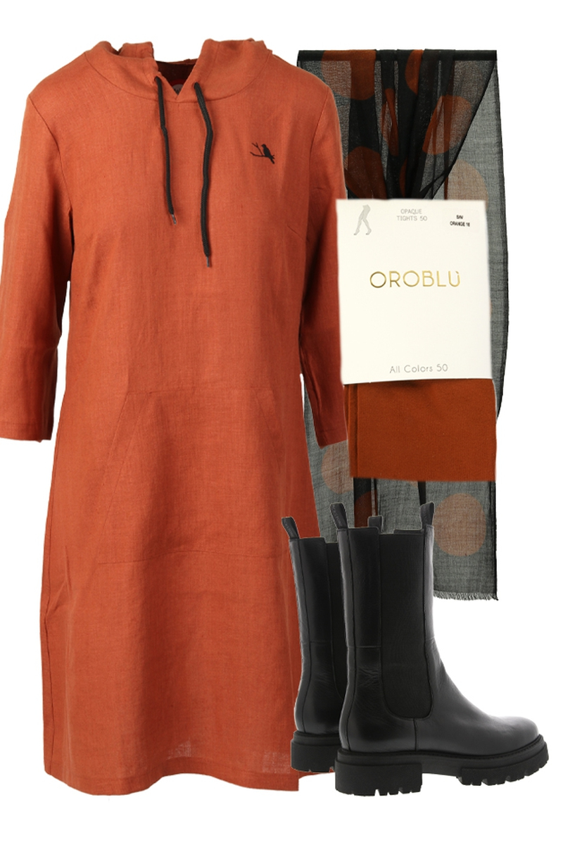 Outfit Ragna rust