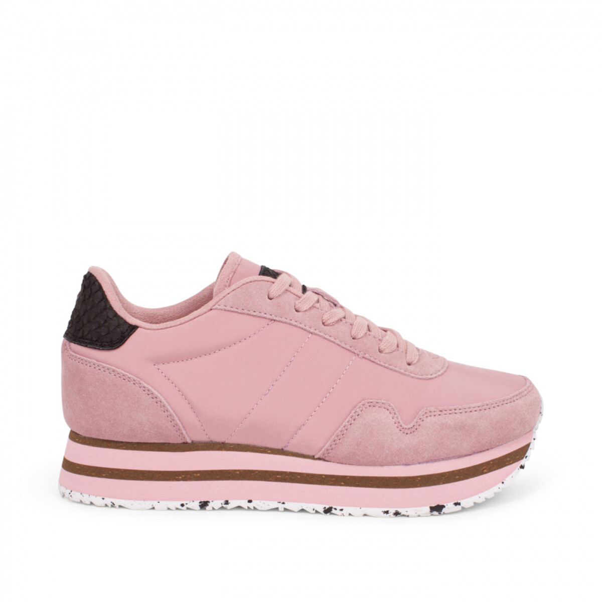 Soft pink plateau sneakers Nora III WL1751