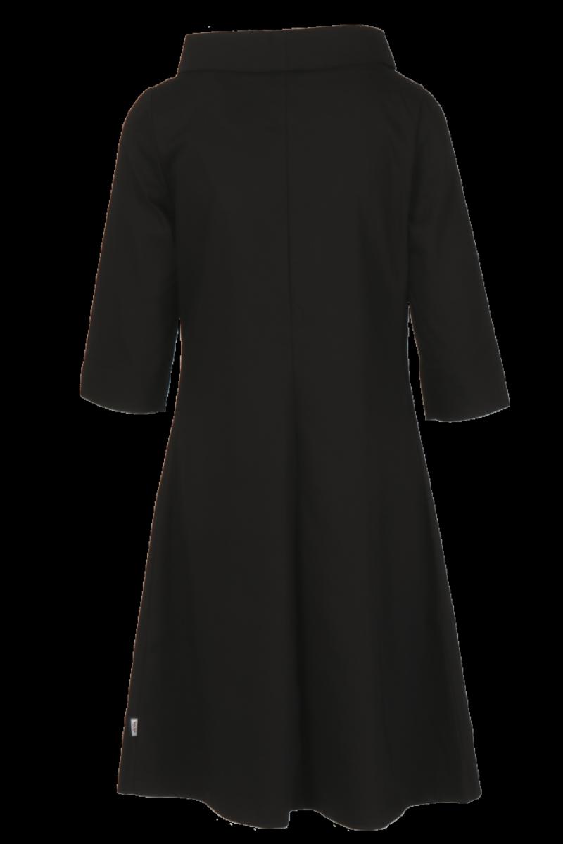 Pippa sort kjole