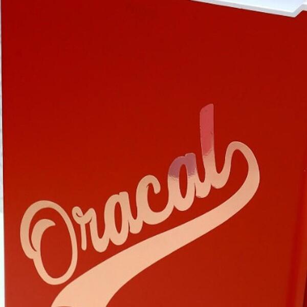 ALLE Oracal 651 -  59 farger + fargekart