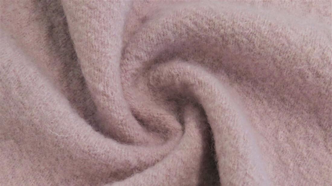 Kokt ull - dus rosa