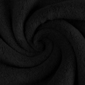 Bilde av Bomullsfleece - svart