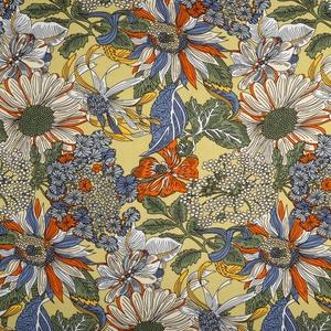 Bilde av Vevet viskose blomster
