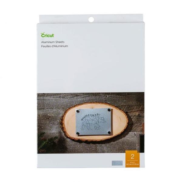 Cricut Aluminium sheets 5x7 inch