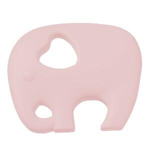 Bilde av Silikonfigur elefant lysrosa