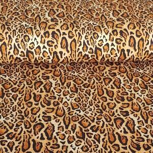 Bilde av French terry - Leopardprint