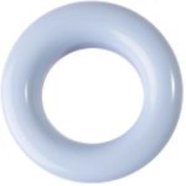 Fargede maljer LYSBLÅ - 8 mm 20 stk