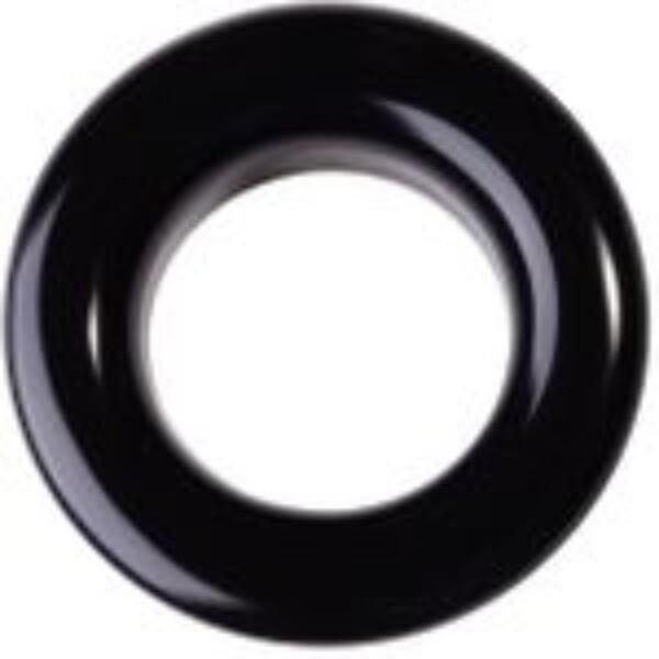 Fargede maljer SVART - 8 mm 20 stk