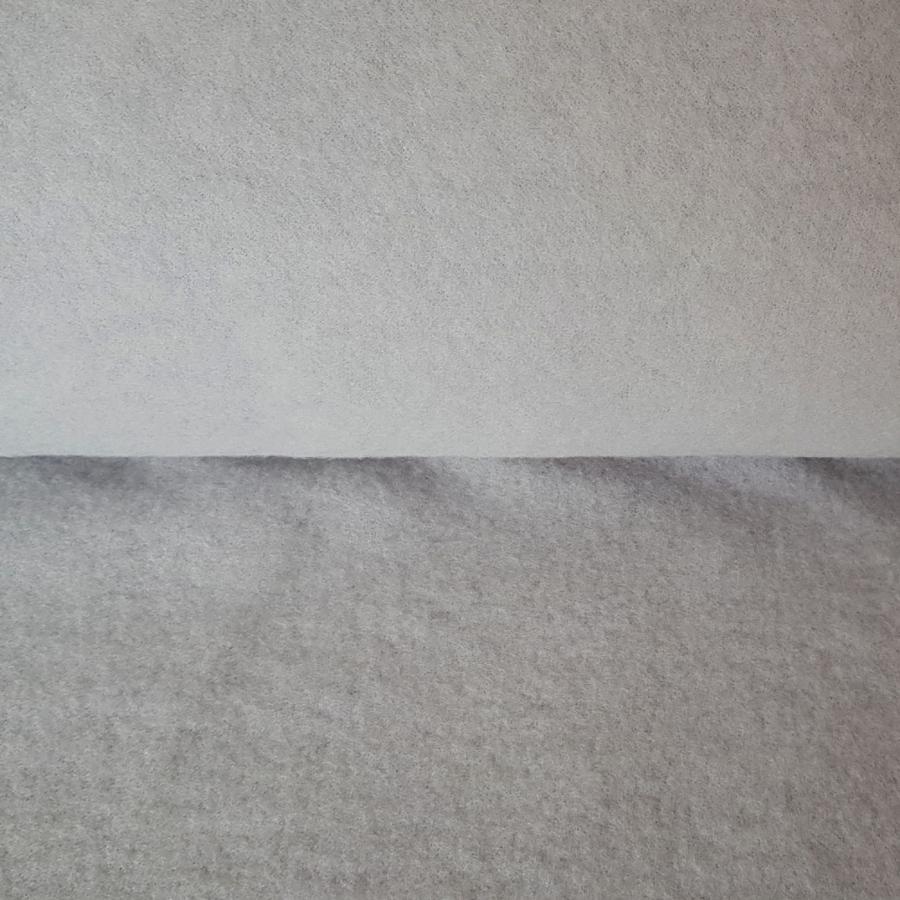 Merinoull-fleece - Lysgrå
