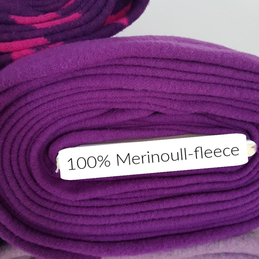 Merinoull-fleece - Lilla