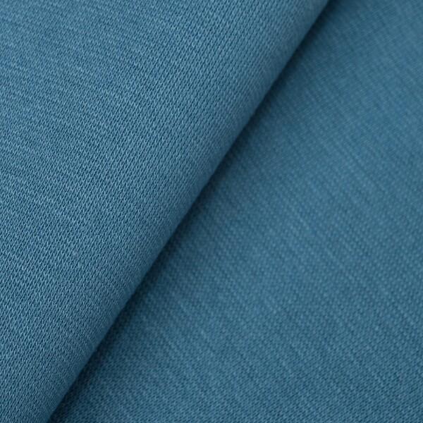 Gråblå ribb 146 cm bredde