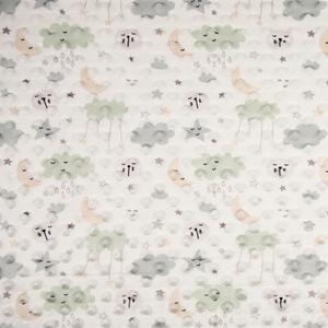 Bilde av Minky fleece Cloud dusty