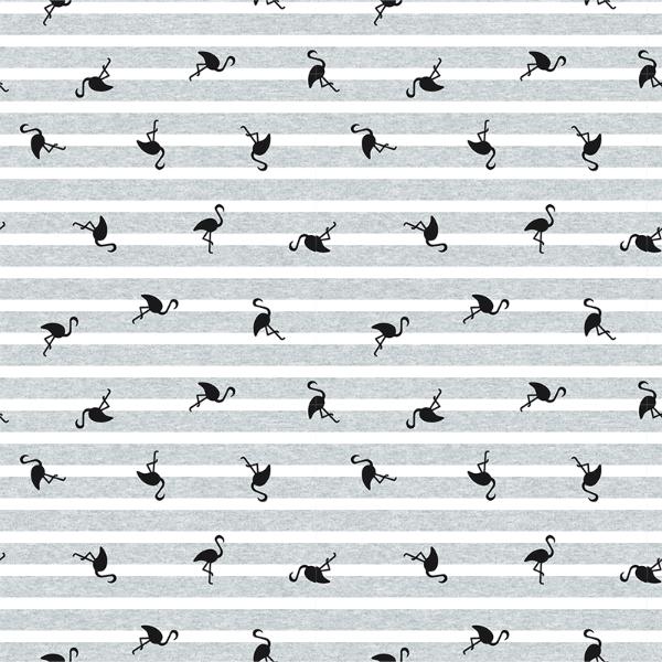 Jersey Striper flamingo grå