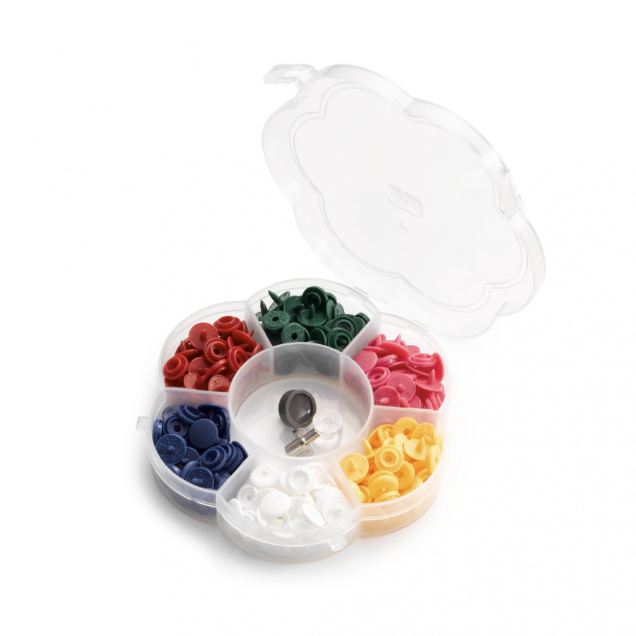 Prym Plastknapper boks 72 stk