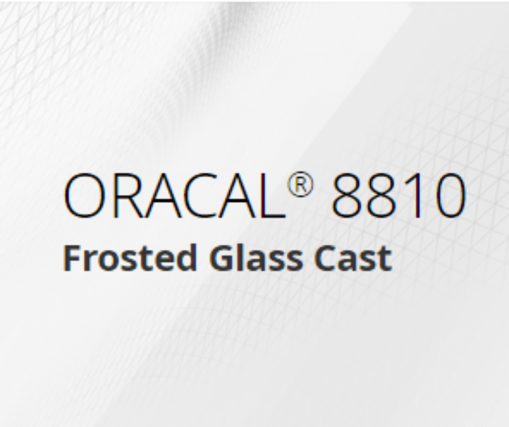 Oracal 8810 Frostet glass 30x60 cm