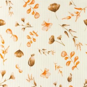 Bilde av Vaffel-jersey - Autumn leaf