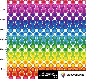Bilde av Jersey Rainbow - white