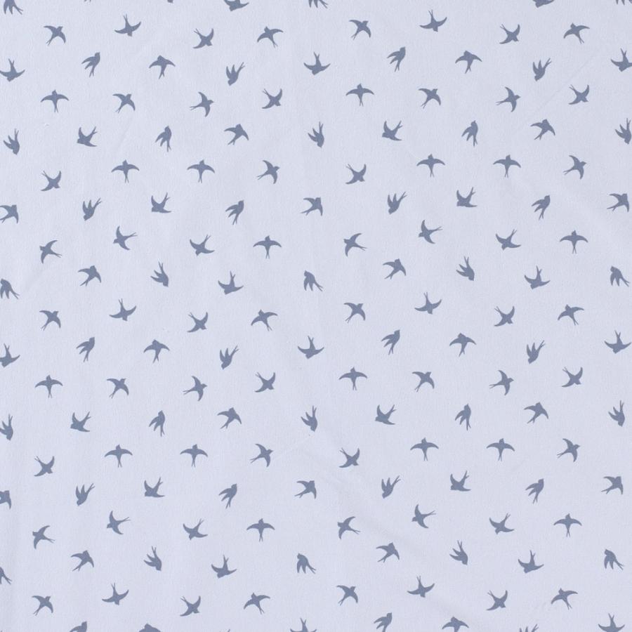 Jersey Fugler silhouette lysblå