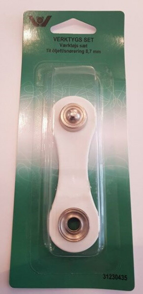Verktøy til maljer 8,7 mm
