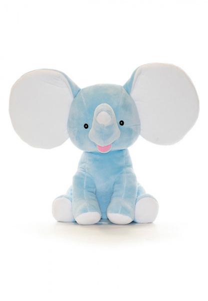 Babyblå elefantbamse