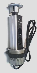 Bilde av PoPuP 2x stikk 2x USB 16A