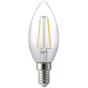 Bilde av LED filament lyspære E14 2W