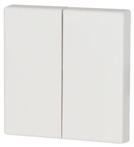 Bilde av Dobbel vippe ren hvit 55x55mm
