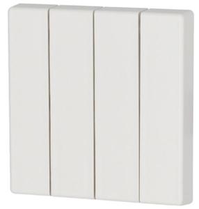 Bilde av Vippe 4-felts ren hvit