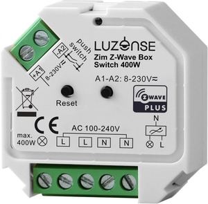 Bilde av Zim Z-Wave BoxSwitch 400W