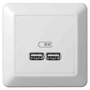 Bilde av USB Lader 2 1A Elko RS16