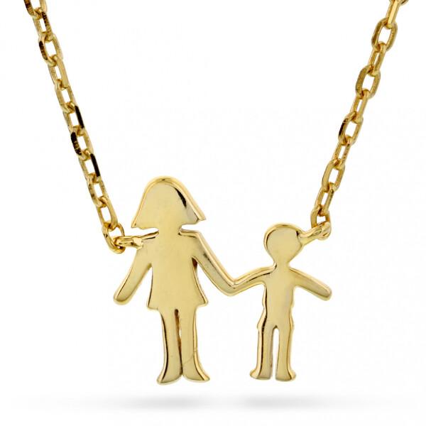 Bilde av Familiesmykke mor og sønn i