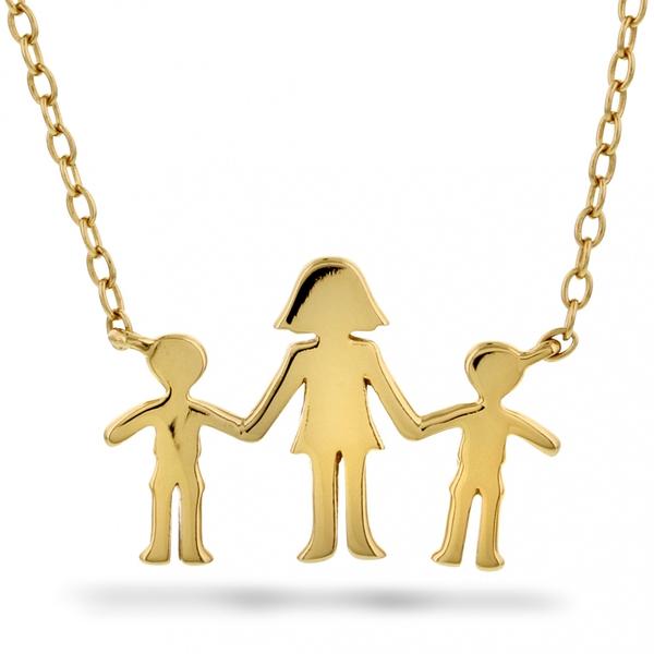 Bilde av Familiesmykke mor og to