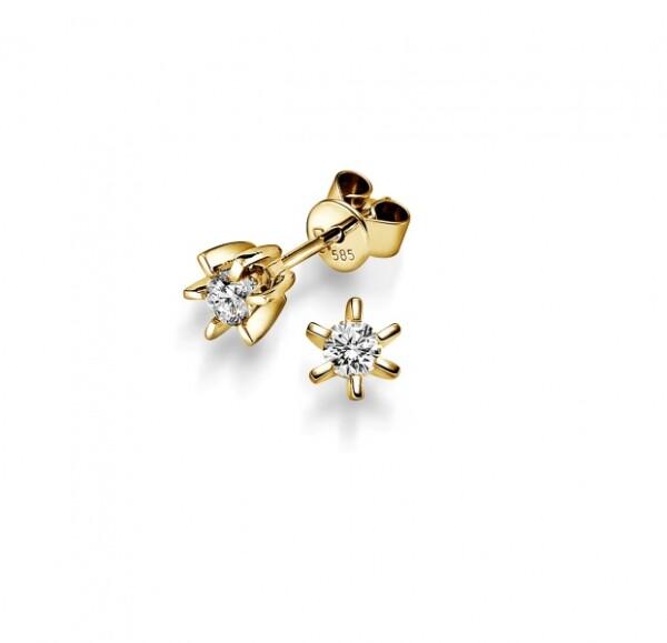 Bilde av Diamant ørepynt gull 0,40ct