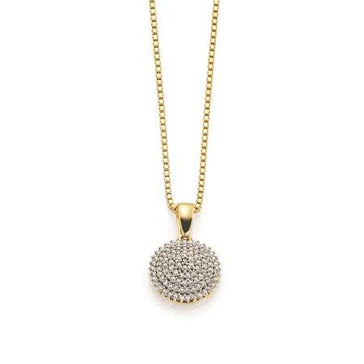GD Grace Anheng i gull med diamanter 0,25ct