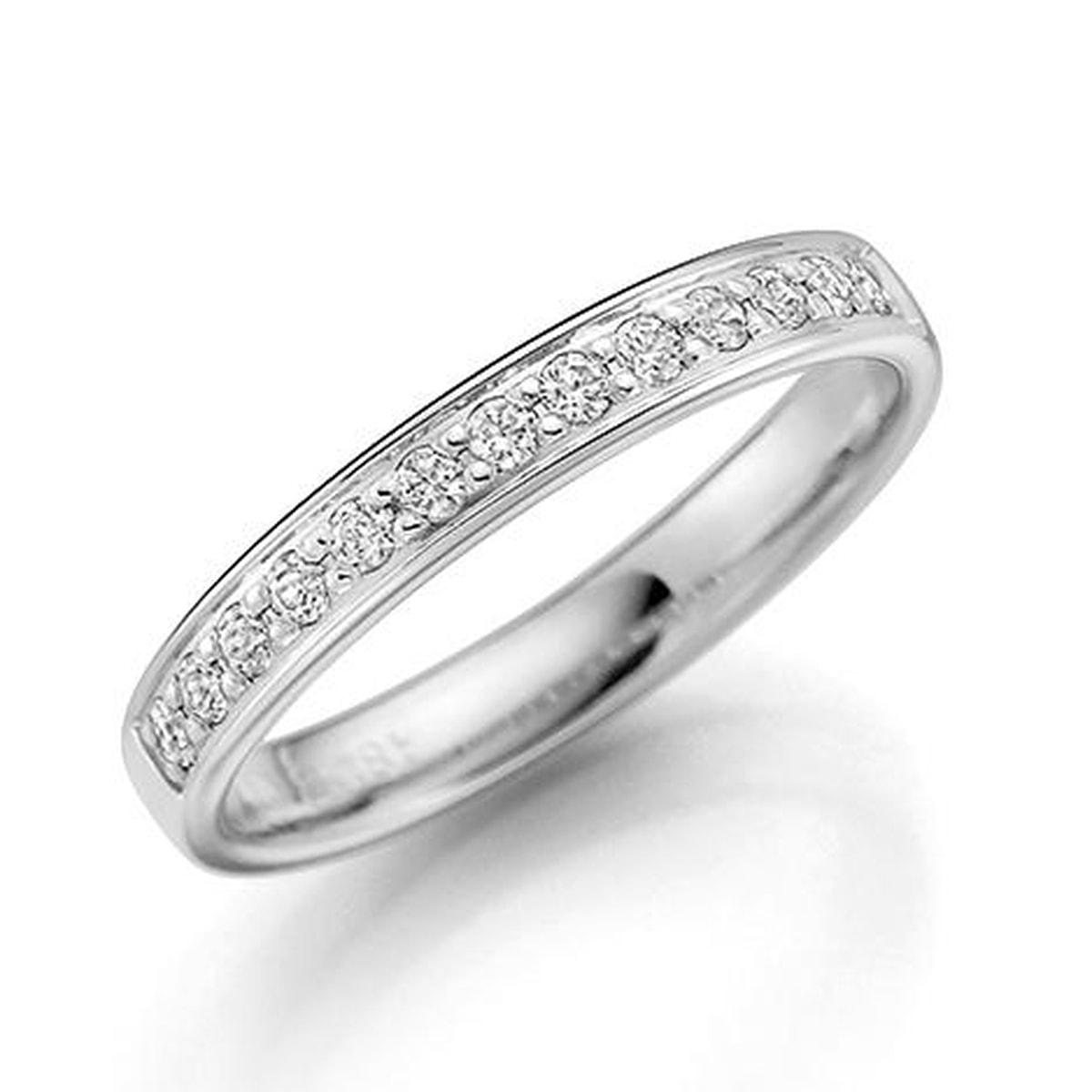 GD Forever Diamant 3mm Hvitt gull. Rekkering