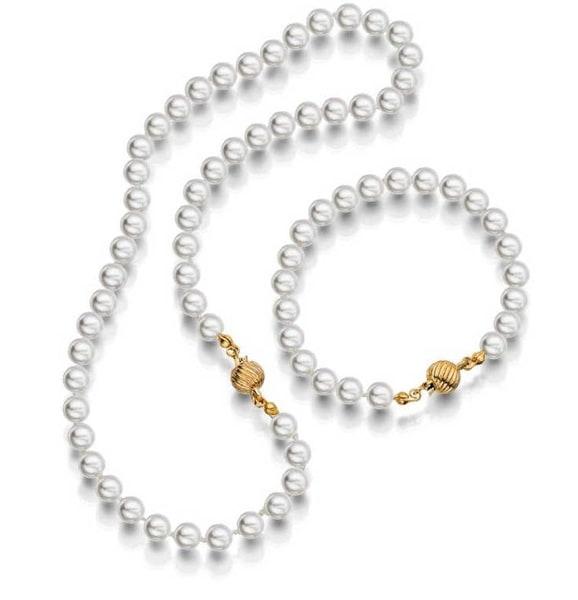 Bilde av Prinsesse perle smykkesett