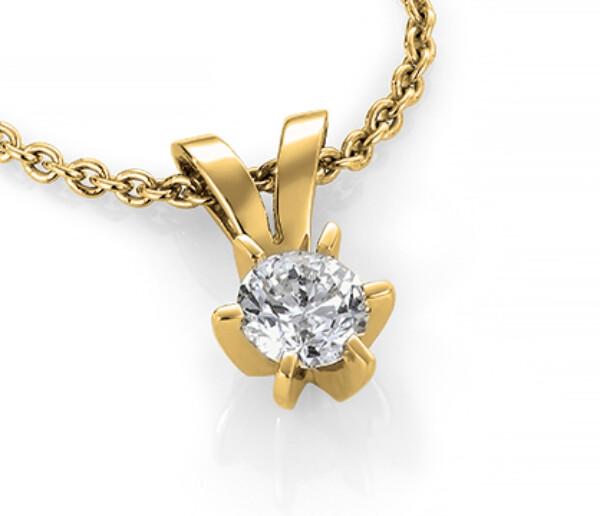 Bilde av Diamant  0,50CT anheng