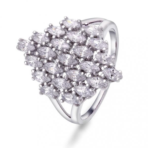 Bilde av Sølv Ring med zirkonia