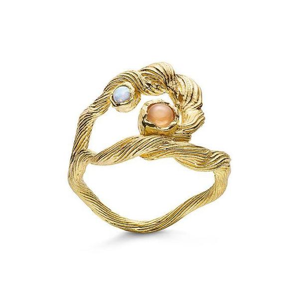 Bilde av Maanesten Curl ring