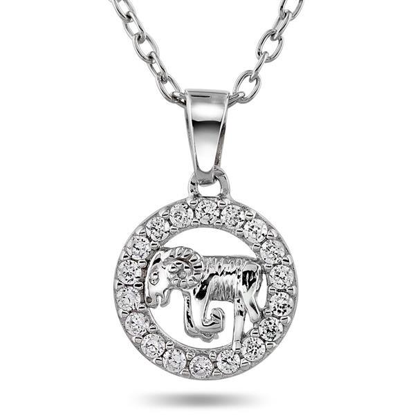 Bilde av Anheng i sølv med væren,