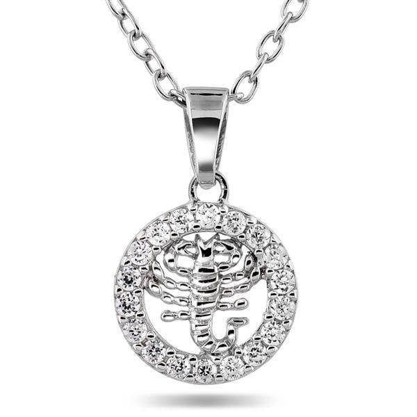Bilde av Anheng sølv med zirkonia
