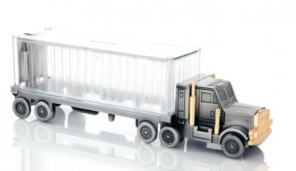 Bilde av Sparebøsse lastebil