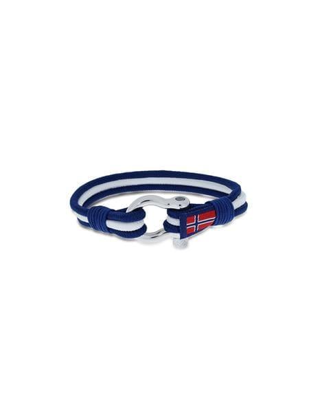 Bilde av GD Maritim armbånd blå/hvit