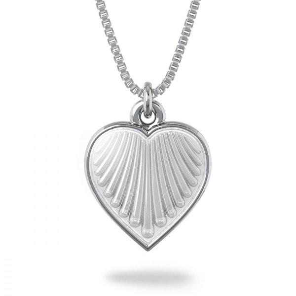 Bilde av Halssmykke i sølv - Hvit