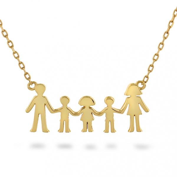 Bilde av Familie - Smykke i sølv to