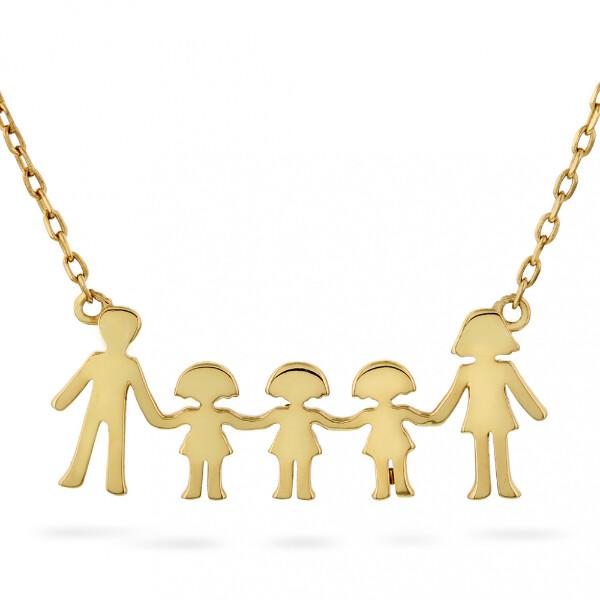 Bilde av Familie - Smykke i sølv tre