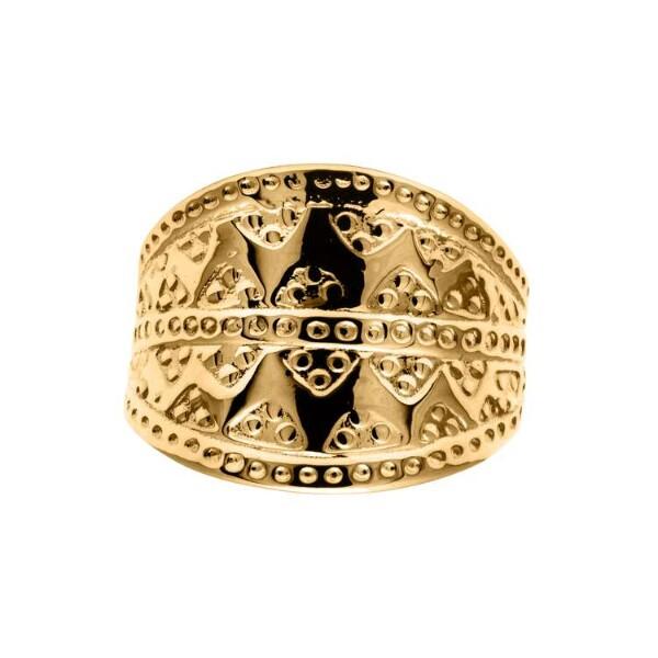 Bilde av Snorre ring gult gull -