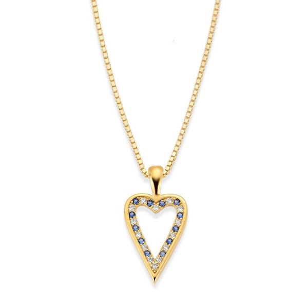 Bilde av Ashley smykke i sølv hjerte